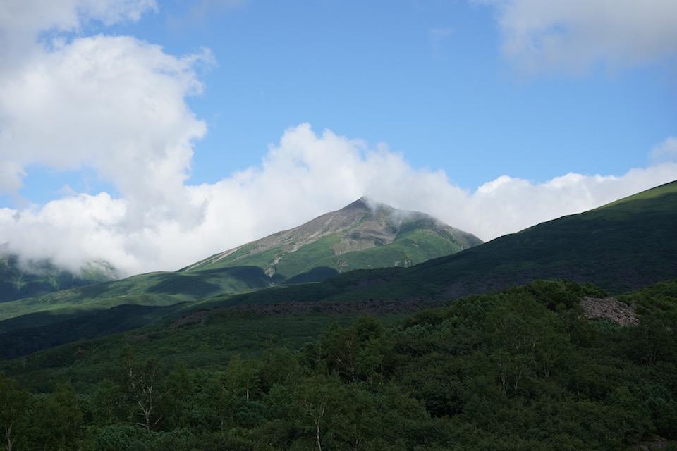 日本百名山 十勝岳