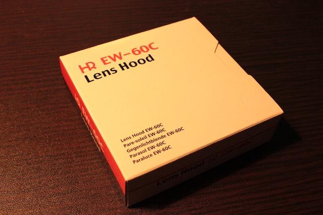 【Kiss X4】レンズフード EW-60Cを買いました