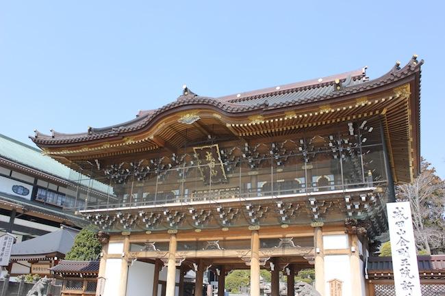 成田山新勝寺から九十九里浜まで行ってきました