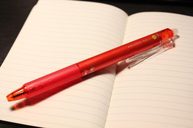 PILOT社製フリクションボールペン「LFBK-23EF-R」を購入しました